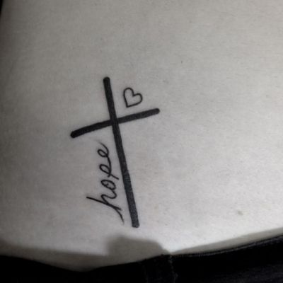 faith hope and love tattoo ideas
