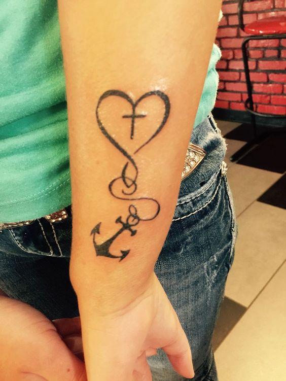 23 best Best Men Forarm Tattoo Hope images on Pinterest ... |Faith Hope Love Tattoo For Men