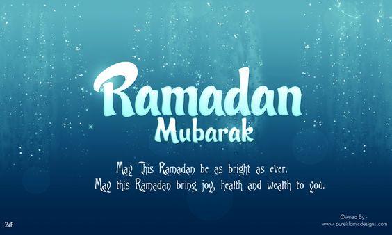 Ramadan Mubarak wishes for 2018