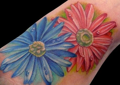 d5257d377 September birth flowers Aster Tattoos | EntertainmentMesh