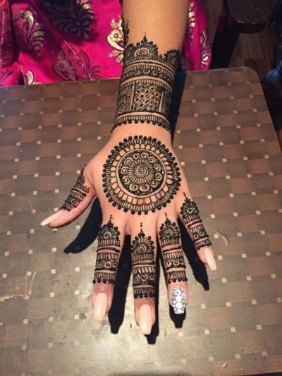 top 20 pakistani mehndi designs for eid 2018