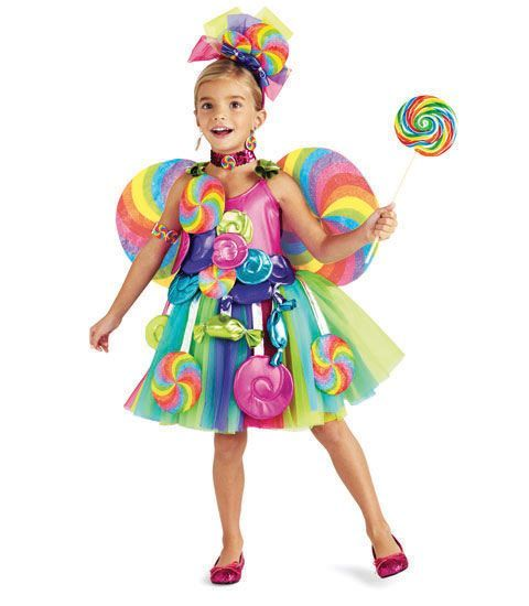 candyland costumes for toddler girls