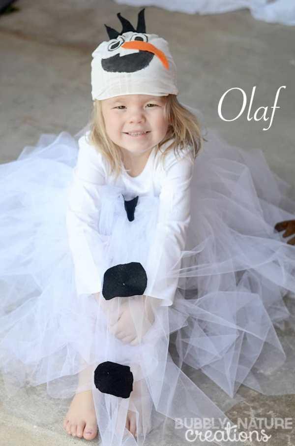 diy disney olaf girl costume ideas for halloween