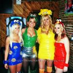 awesome girls group halloween costumes ideas