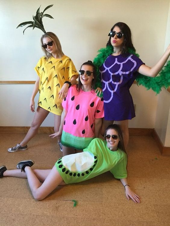 fruit halloween costume ideas for best friend girls