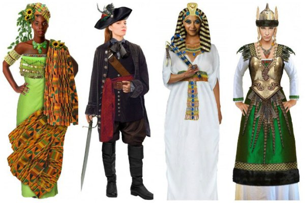 goddess halloween costume ideas for 4 girls group