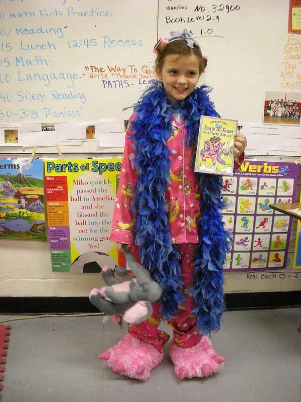 junie-b-jones party animal costume idea