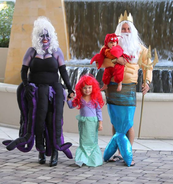 king triton family halloween costume ideas