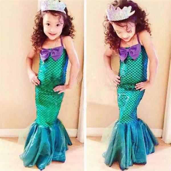 little mermaid toddler costume