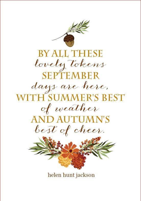 fall the season quotes