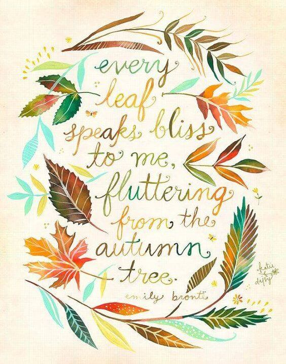 famous quotes of autumn