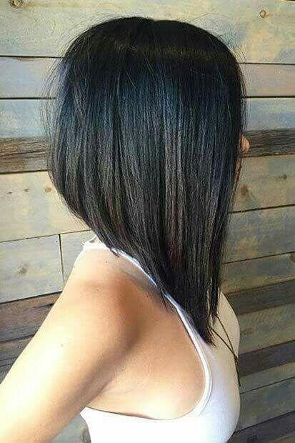 long inverted haircut