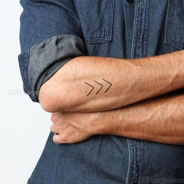 men forearm tattoo