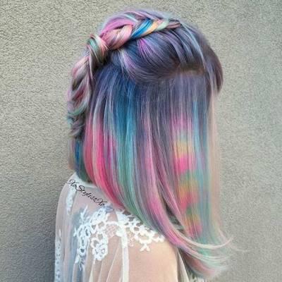 vibrant haircuts