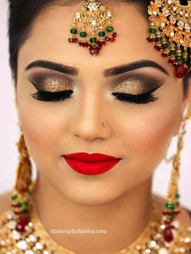 bridal face and eye makeup techniques