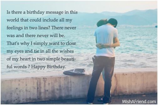 birthday love messages for girlfriend
