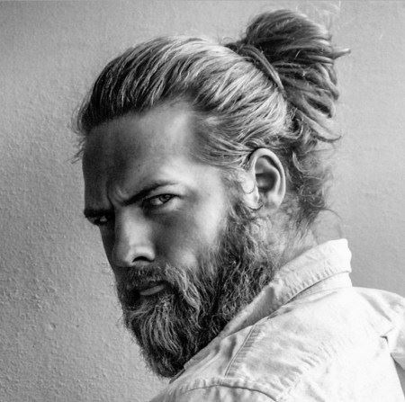 men ponytail hairstyles