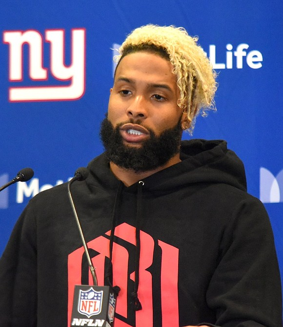 Odell faded side parted haircut ideas 2019