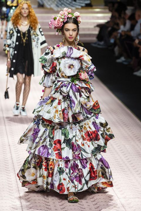 spring ruffle dress fashion trends for 2019