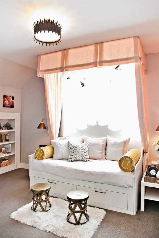 teen girl bedroom sofa decor ideas
