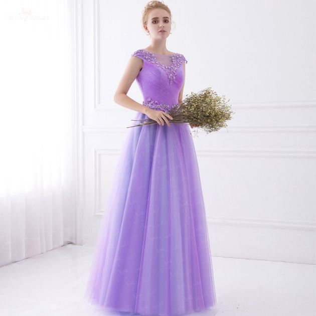 purple bridal wedding dress ideas for 2019