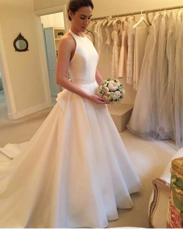 classic ivory bridal wedding dress ideas for 2019
