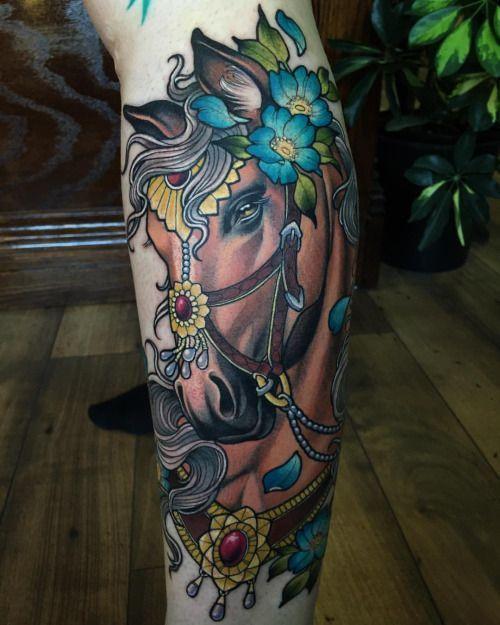 horse tattoo designs for women