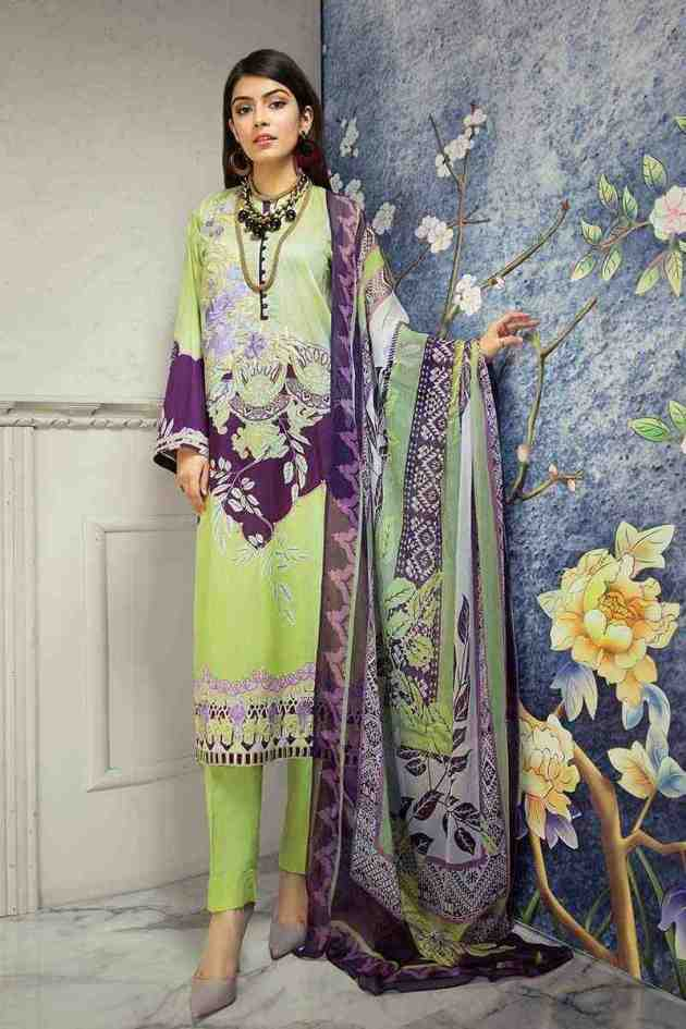 Gul Ahmed Lawn summer colors for 2019