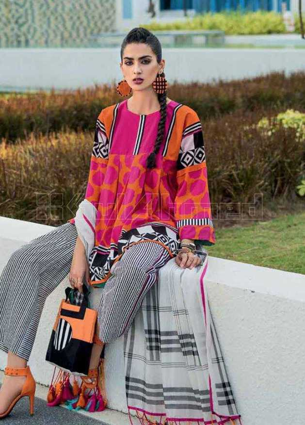 Gul Ahmed Summer Lawn colors for 2019