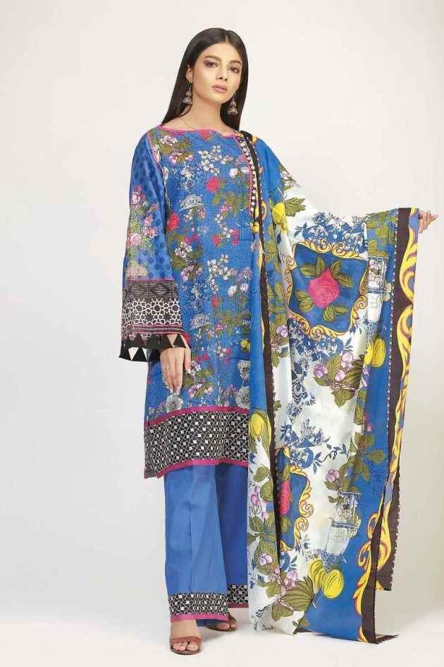khaadi lawn color trends 2019