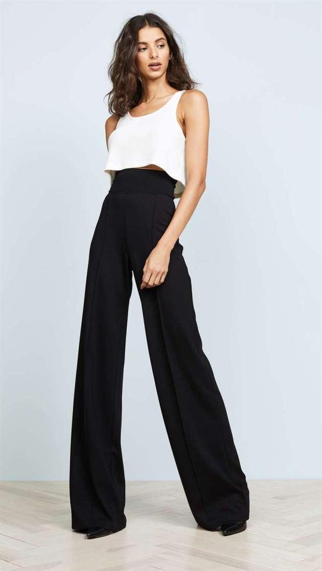 high-waistband pant
