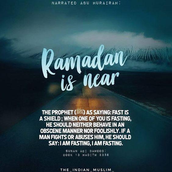 Ramadan hadith status images for whatsapp