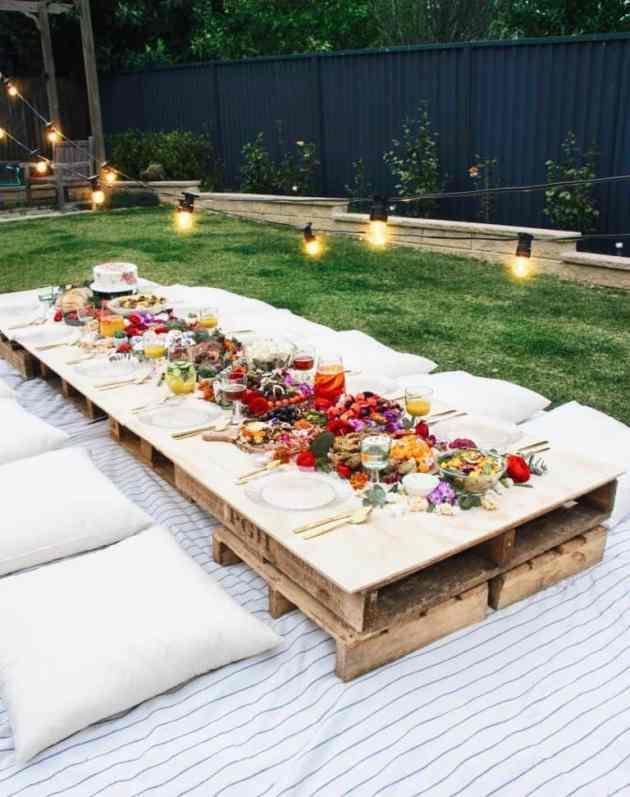 summer garden party decor ideas