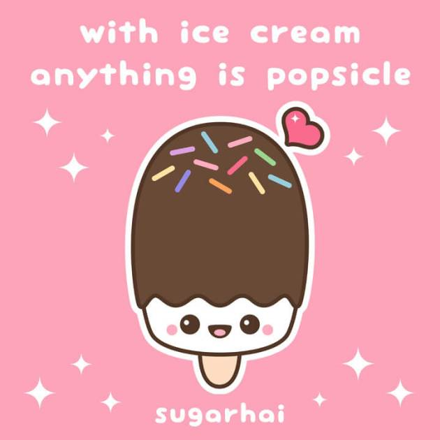 cute funny ice cream sayings