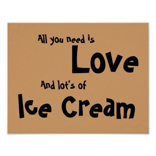 ice cream love quotes