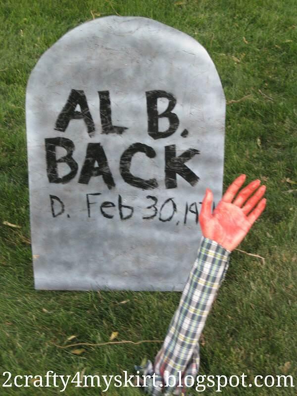 funny halloween headstone ideas