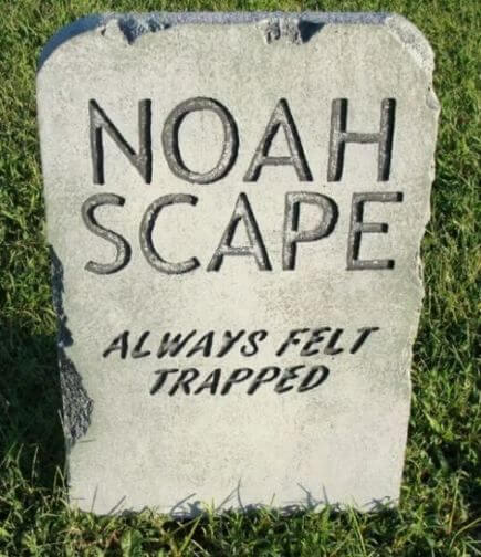 halloween funny headstone signs