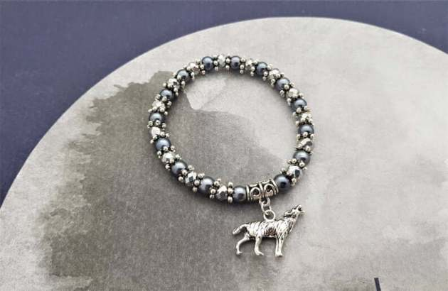 wolf bracelet Jewellery