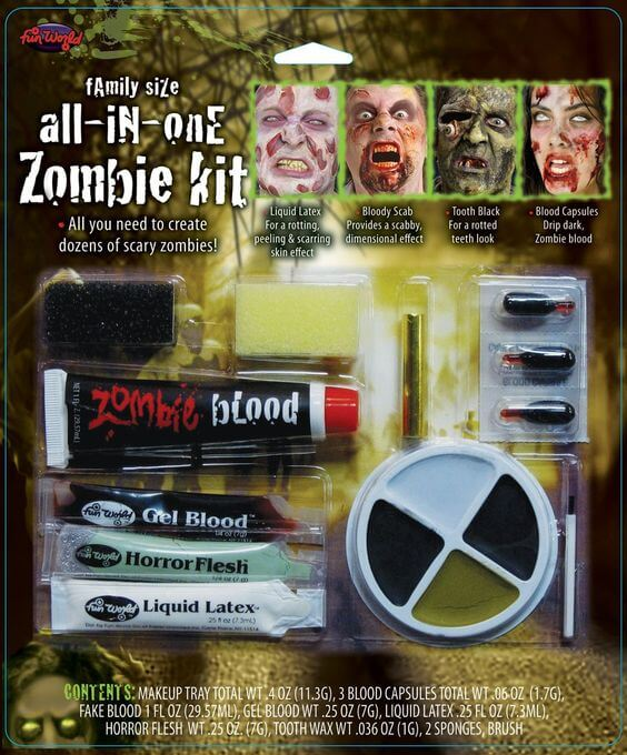 All-In-One Zombie Family Kit