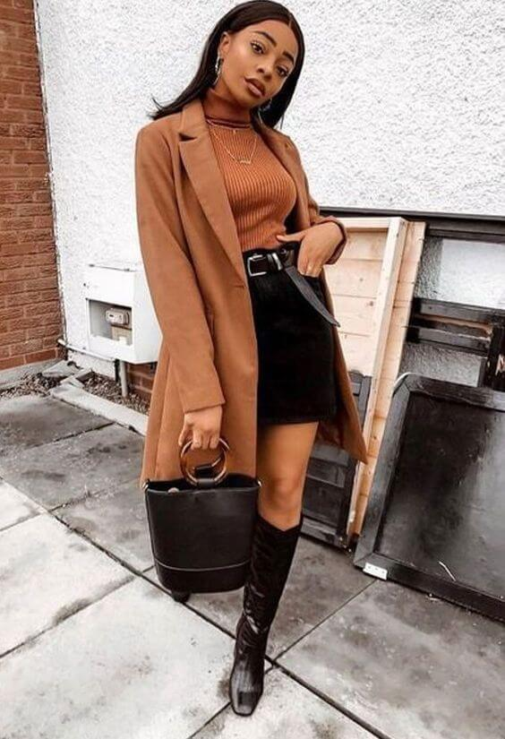 fall outfit ideas for black women
