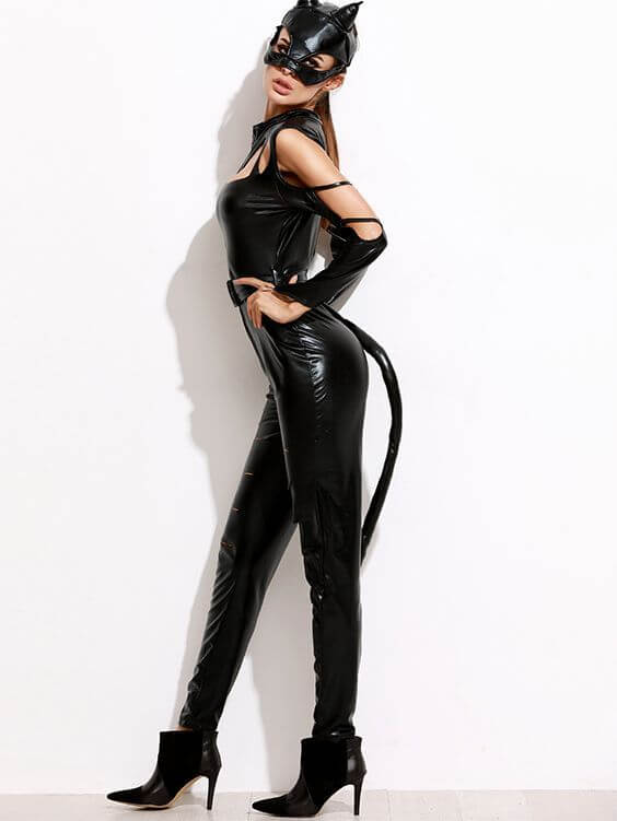 halloween catwoman costume ideas for college girls