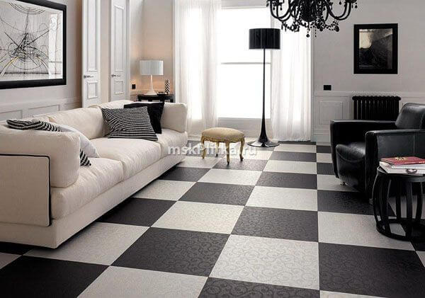 minimalist black and white living room design