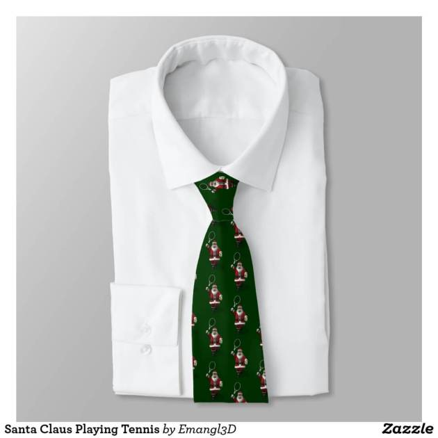 santa tie christmas suit ideas for men