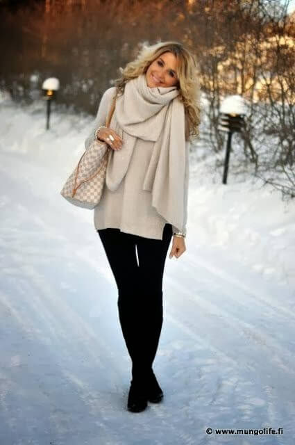 winter holidays outfit