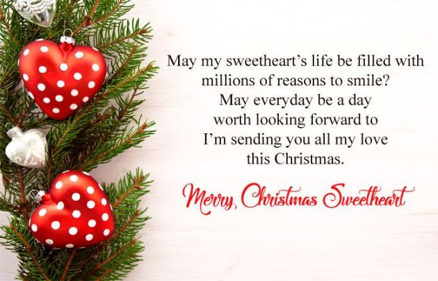 cute merry christmas wishes images for sweetheart
