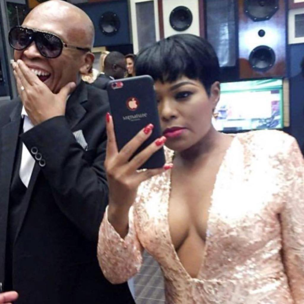 Ann and Robbie malinga