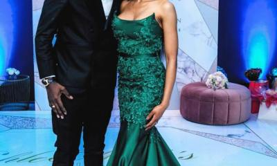 DJ Black Coffee and Enhle Mbali