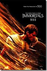 Theseus Immortals Poster