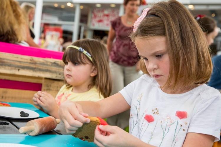 McArthurGlen Designer Outlet Bridgend launches Festival of Summer - local children cookie decorating.JPG