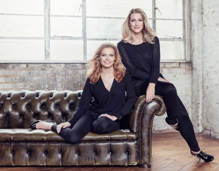 Sophie Evans Pictured with Alice Fearn Photo: Darren Bell